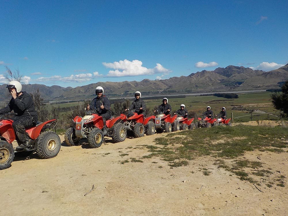 Group quad biking tours