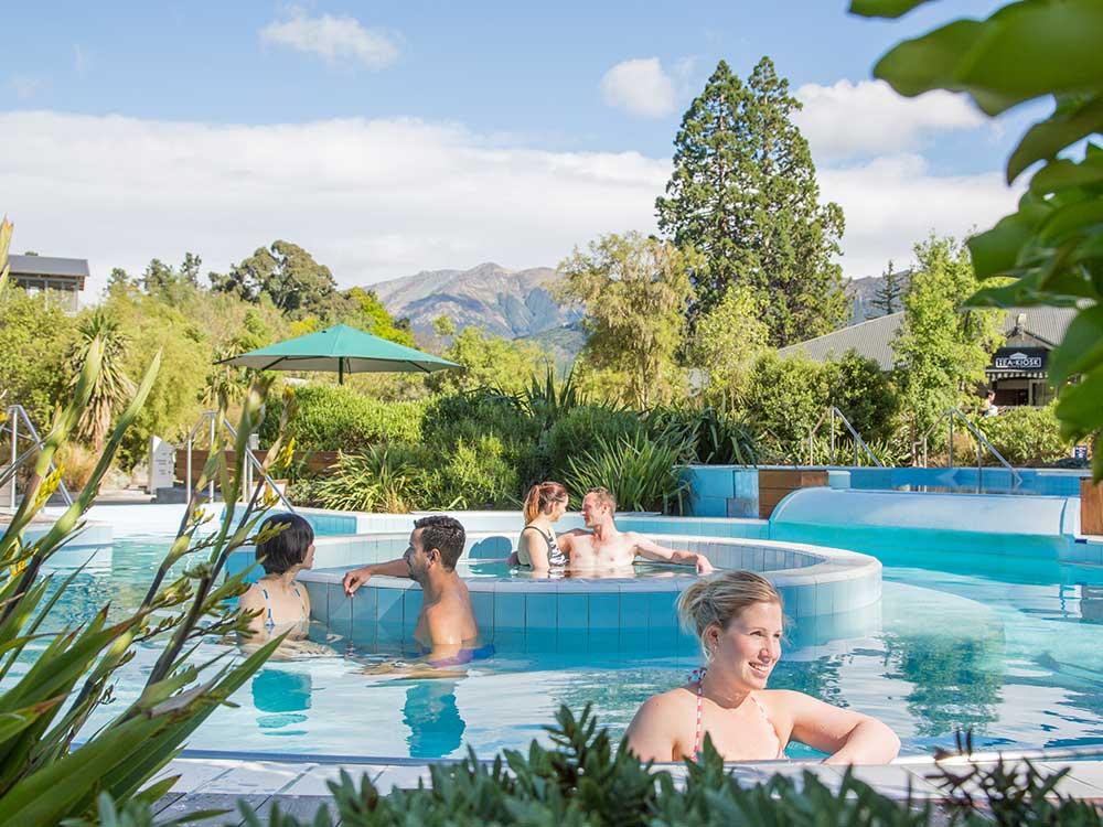 Copyright: Christchurch NZ. Hanmer Springs Thermal Pools