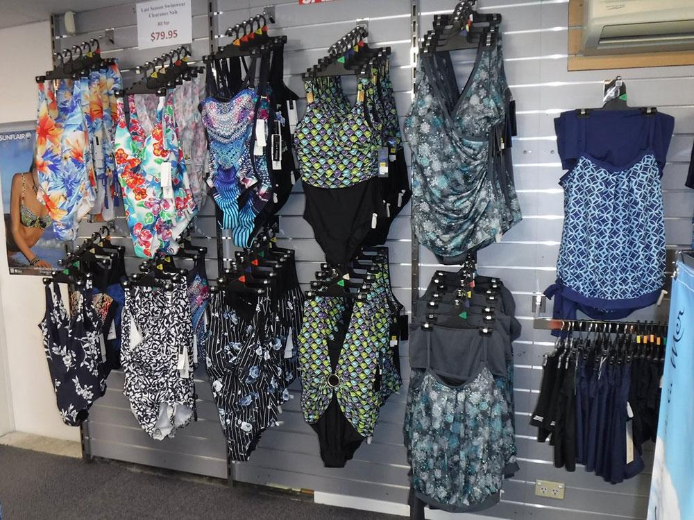 Hanmer Adventure Centre Shop - wide range of swimwear