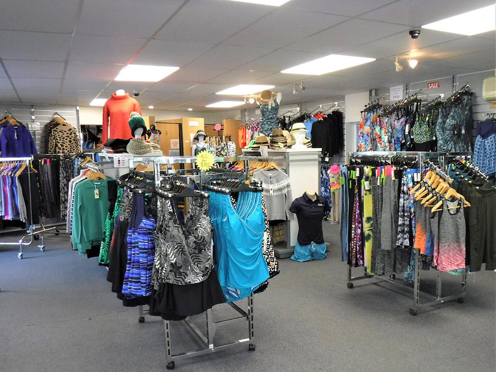 Hanmer Adventure Centre Shop - wide range of clothing
