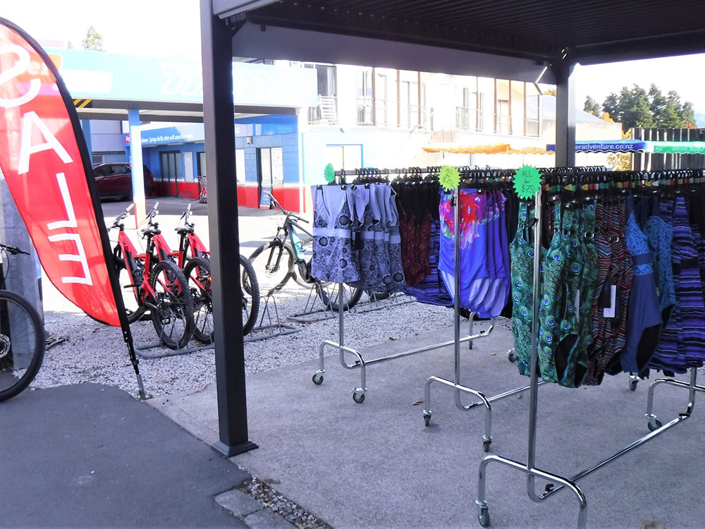 Hanmer Adventure Centre Shop - wide range of swimwear for sale